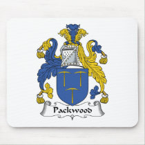 Packwood Family Crest Mousepad