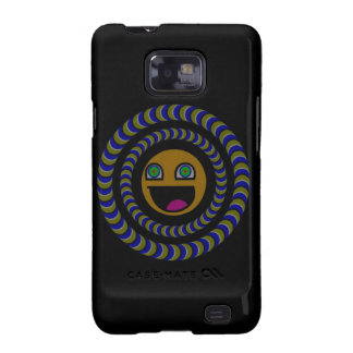 PacMan Rotates IT - Optical illusion Galaxy S2 Cases
