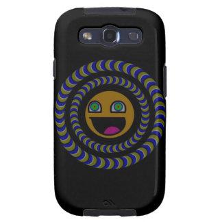 PacMan Rotates IT - Optical illusion Samsung Galaxy SIII Cases
