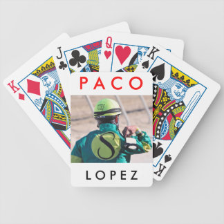 Paco Lopez Bicycle Playing Cards