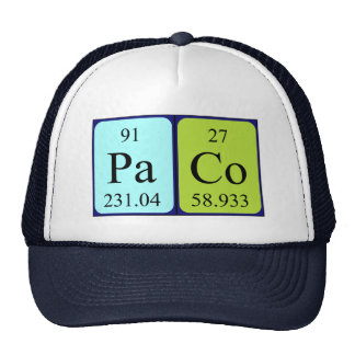 Paco periodic table name hat