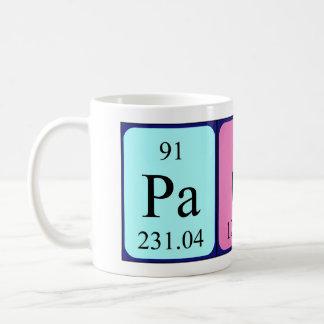 Paco periodic table name mug
