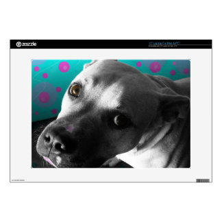 """Paco The Boxer 15"""" Laptop Decal"""