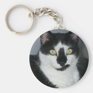Paco The Pussycat Basic Round Button Keychain