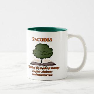 PACODES dos-entonó la taza de café