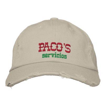 Paco's Servicios Baseball Cap