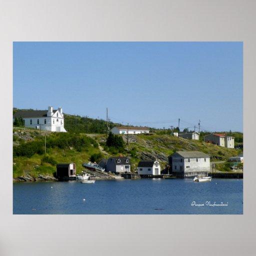 Pacquet, Newfoundland Poster