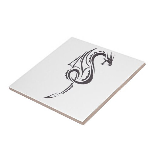 Pact Of The Dragon 2 Ceramic Tile