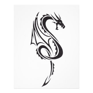 Pacto del dragón B1 Membrete A Diseño