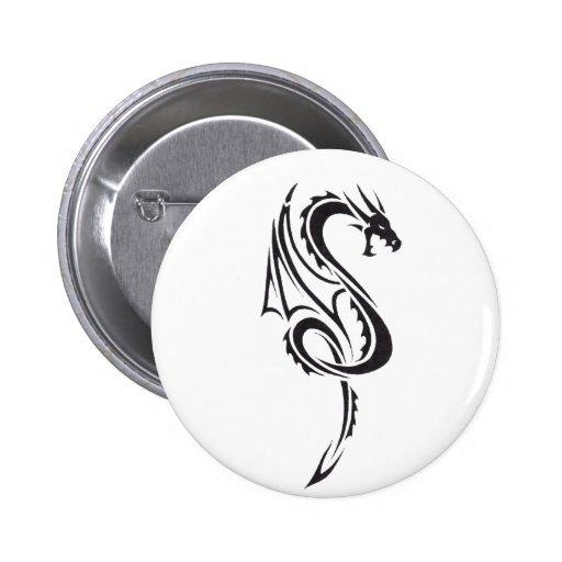 Pacto del dragón B1 Pin Redondo 5 Cm