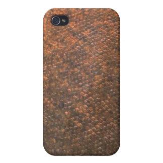 Pacu - cubierta de Iphone de la piel de los pescad iPhone 4/4S Fundas
