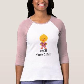 PACU Nurse Chick Raglan Tee