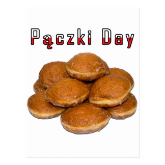 Paczki Day Postcard