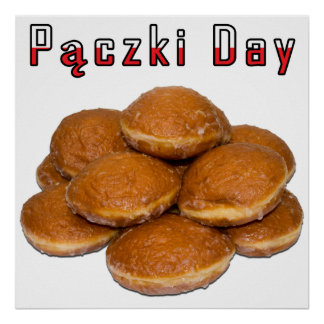 Paczki Day Poster