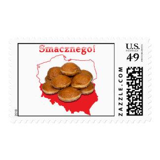 Paczki Smacznego Polish Map Stamp