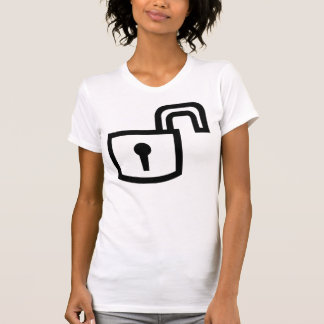 PAD LOCK T SHIRT MALE OR FEMALE