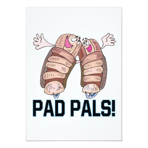 """Pad Pals 5"""" X 7"""" Invitation Card"""