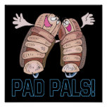 Pad Pals Print