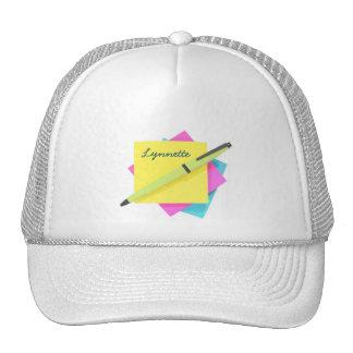 Pad & Pen. Trucker Hat