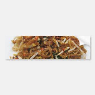 Pad Thai (ผัดไทย) Thailand Street Food Bumper Stickers