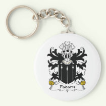 Padarn Family Crest Keychain