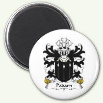 Padarn Family Crest Magnet