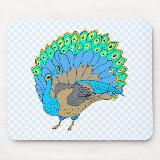 Paddie Peacock Mouse Pad
