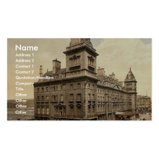 Paddington, Great Western Hotel, London and suburb Business Card Template