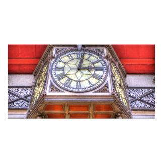 Paddington Railway Station Clock Card