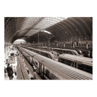 Paddington Station, London. Mini Photo Large Business Card