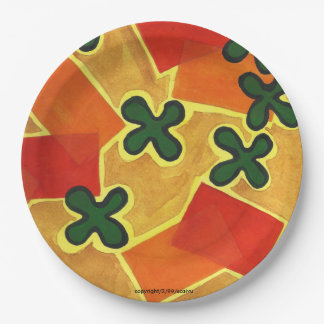 Paddle and Mat Paper Plate
