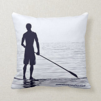 Paddle Boarder Pillow