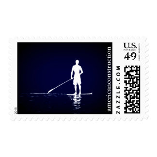 Paddle Boarder Stamp
