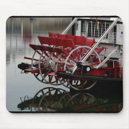 Paddle Boat on the Ohio ~ photography mouse pad