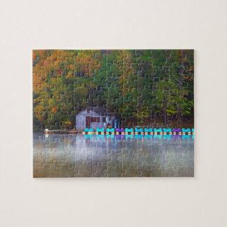 Paddle Boats on the Lake Jigsaw Puzzle