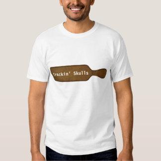 Paddle, Crackin' Skulls T-Shirt
