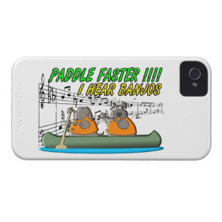 Paddle Faster !!!! iPhone 4 Case