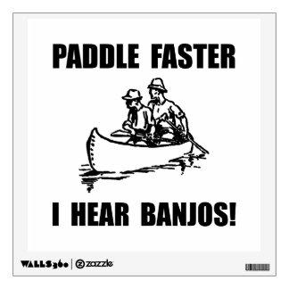 Paddle Faster Hear Banjos 2 Room Graphics