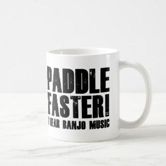 Paddle Faster I Hear Banjo Music Classic White Coffee Mug