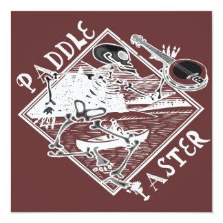 Paddle Faster Skeleton Canoe 2t Invitation
