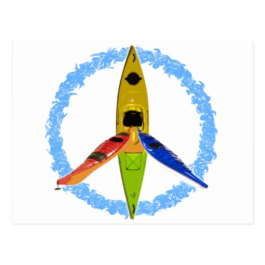 PADDLE FOR PEACE POSTCARD
