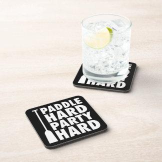 Paddle Hard, Party Hard Beverage Coaster