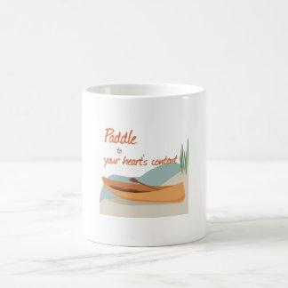 Paddle Hearts Coffee Mug
