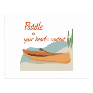 Paddle Hearts Postcards