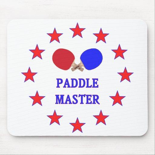 Paddle Master Ping Pong Mouse Pad
