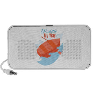 Paddle My Way iPod Speakers