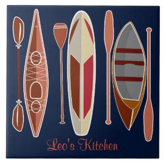 Paddle Passion Tile