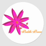 Paddle Power (Pink) Classic Round Sticker