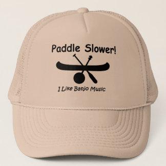 Paddle Slower cap (black)