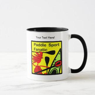 Paddle Sport Fanatic Fun Mug